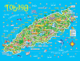 Trinidad Map 61 Best Things To Do In Tobago Images On Pinterest Caribbean