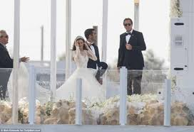 The Wedding Dress Jeff Sutton U0027s Daughter Renee Gets Married In Puglia Daily Mail
