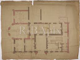 the devoted classicist sezincote the basement ground floor plan of sezincote in an 1805 drawing by s p cockerell the partitions of the existing house to be removed are noted