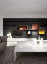Contemporary Tv Table Contemporary Tv Wall Unit Wooden By Piero Lissoni Modern