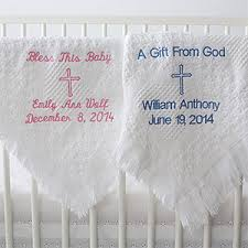 christening blanket personalized baby blanket christmas gifts that babies will amazing