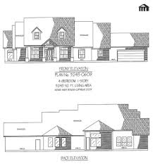 one story ranch style house plans bedroom design open concept