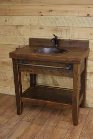 Rustic Bathroom Vanities And Sinks by 25 Best Rustic Bathroom Vanities Ideas On Pinterest Barn Barns