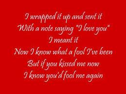 wham last christmas i gave you my heart lyrics youtube