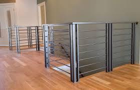 Modern Banister Custom Railing Fabrication U0026 Installation For Commercial U0026 Residential