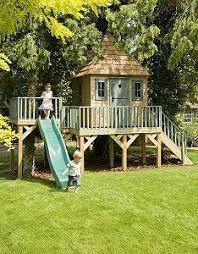 Backyard Playhouse Ideas Children S Outdoor Playhouse This Website Has Great Ideas For