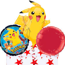balloons in a box pikachu helium filled balloons in a box amazingballoons