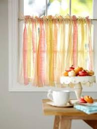 Pictures Of Kitchen Curtains by Kitchen Cafe Curtains With A Tension Rod And Curtain Clips The