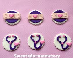 doc mcstuffins cupcake toppers 12 doc mcstuffins cupcake toppers fondant