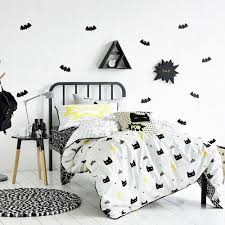 Batman Double Duvet Cover Adairs Kids Kapow Quilt Cover Set U2013 Bedroom Quilt Covers