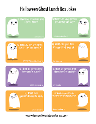 super spooky ghost lunch box jokes for kids