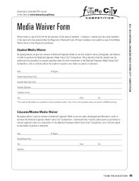 fillable media consent form template edit print u0026 download