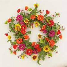 summer wreath summer wreath floral decor ebay