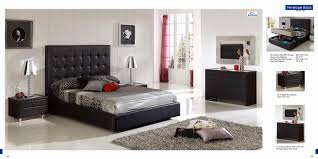 eco modern furniture bedrooms modern leather bedroom furniture in wenge and white eco