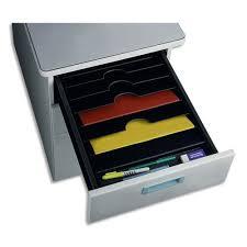 organisateur de tiroir bureau organiseur de tiroir à 6 compartiments cep incolore maxiburo