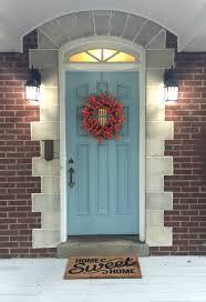 Frontdoor by Get The Look My Niece U0027s Fall Front Door Beneath My Heart