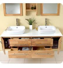 bathroom sink shelves cabinets ideas chic double floating