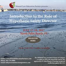 Wound Care Nurse Job Description Introduction To The Role Of Hyperbaric Safety Director North