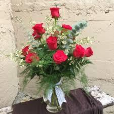 Long Stem Rose Vase Classic Long Stemmed Roses Vased Arrangement In Auburn Al