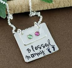 Birthstone Name Necklace 324 Best Hand Stamped Jewelry Images On Pinterest Hand Stamped