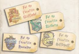 harry potter hogwarts printable gift tags diy tags for gifts