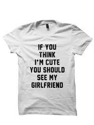 his hers gifts his t shirt think im shirt t shirts cool shirts