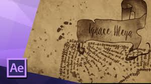 Harry Potter Marauders Map How To Create The Marauders Map Animation From Harry Potter In