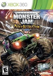 monster jam monster truck amazon com monster jam 3 path of destruction xbox 360 video games