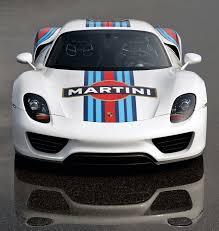 porsche 918 spyder white porsche 918 spyder martini racing livery unveiled interior spied