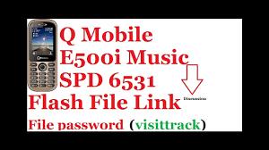 mobile e500i music flash file