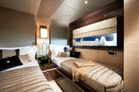 Yacht Bedroom by Predator 68 Performance Up To 45 Knots Sunseeker Yachts