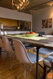 chicago rustic modern living u0026 dining room design project