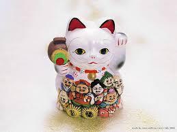 maneki neko picture japanese beckoning cat wallpaper 17 wallcoo net