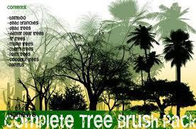 100 free high quality tree brushes for photoshop designbeep