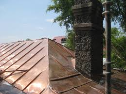 Roof Doctor Louisville by Copper Roof Replacement On A Historic Building In Downtown