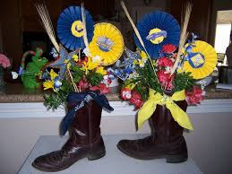 Western Style Centerpieces by 129 Best Ffa Banquet Images On Pinterest Banquet Ideas Blue