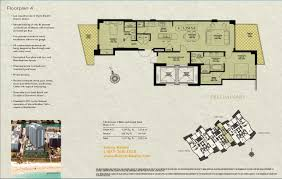 Two Story Condo Floor Plans Mosaic Miami Beach Condo 3801 Collins Ave Florida 33141