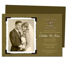 50th wedding invitations 50th anniversary invitations templates free orax info