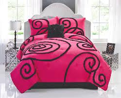 Bedding Sets Full For Girls by Pink U0026 Black Elegant Teen Bedding Chic Ruffles 144 99