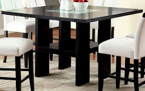 bar height glass table dining tables popular bar height table set design ideas image with