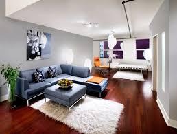 innovative blue walls living room astonishing fascinating loft
