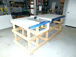table saw station plans simple table diy table saw stand plans full image for table saw