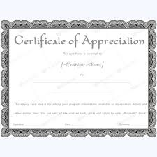26 best certificate of appreciation templates images on pinterest