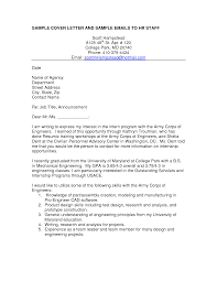 email cover letter best email cover letter sle tomyumtumweb