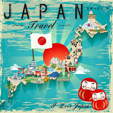 japanese design attractive japan travel map design welcome to japan in japanese