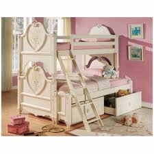 twin beds girls bunk bed idea for twin girls with classy look pretty princess