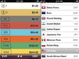 Currency Converter Denominations App The Easiest Most Useful Currency Converter Yet