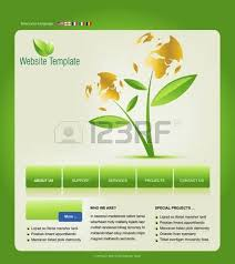website template easy to use in adobe photoshop flash or