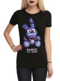 halloween horror nights shirts five nights at freddy u0027s bonnie the bunny girls t shirt topic