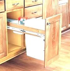trash cans for kitchen cabinets trash can cabinet homeaccessoriesforus top